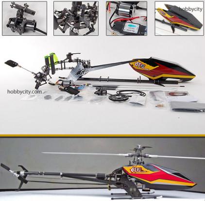 SJM 500-Pro Kit 80% pré-construit w / BL Motor & ESC