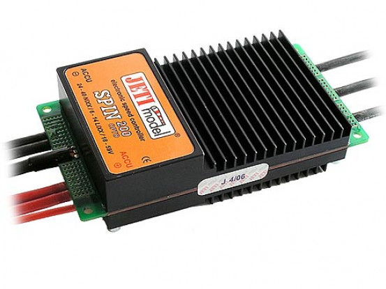 SPIN Jeti Opto 200A 6-14Cell