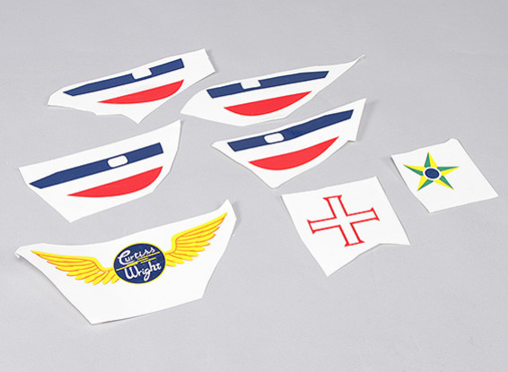 P-40N (Vert) 1700mm - Remplacement Decal