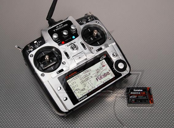 Futaba 10CHG 2.4GHz w / R6014HS Receiver (Mode 1)
