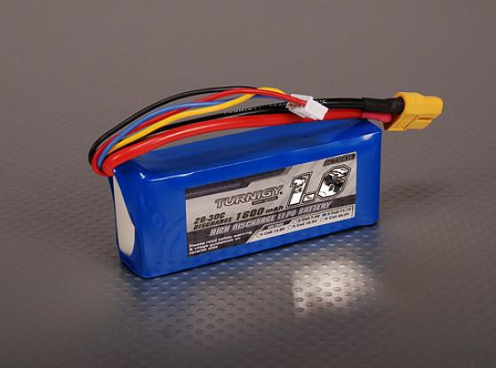 Turnigy 1600mAh 3S 20C Lipo Paquet
