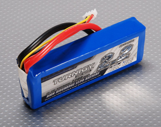 Turnigy 2200mAh 2S 20C Lipo Paquet