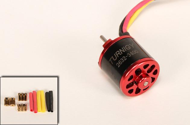 3400kv Turnigy 2632 moteur Brushless