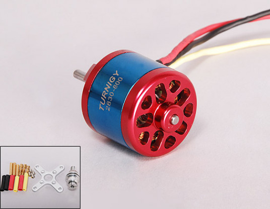800kV Turnigy 2830 moteur Brushless