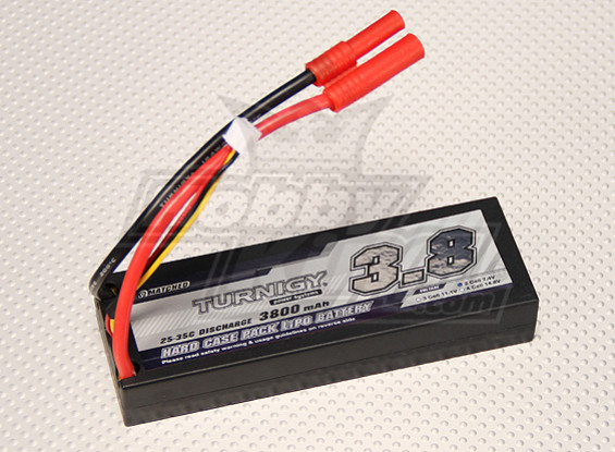 Turnigy 3800mAh 2S1P 7.4v 25C Hardcase Paquet