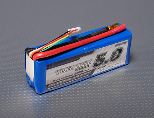 Turnigy 5000mAh 4S 35C Lipo Paquet