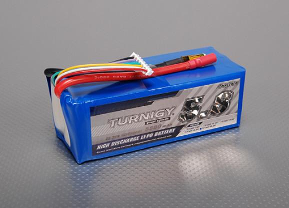 Turnigy 5800mAh 6S 25C Lipo Paquet