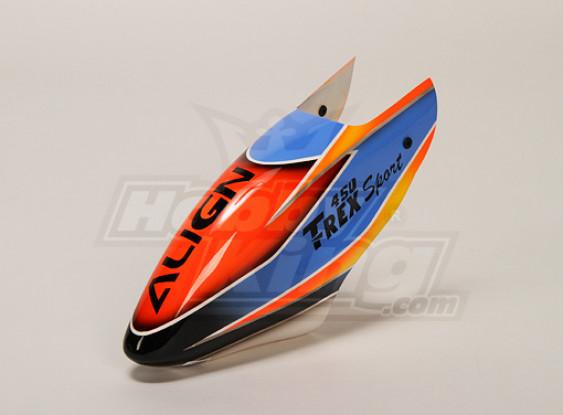 Fiberglass Canopy pour Trex-450 Sport