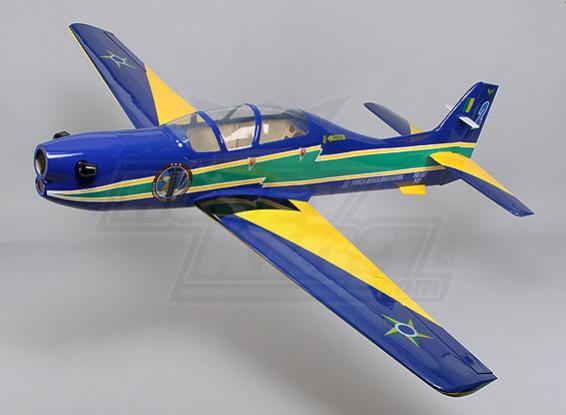 Embraer Tucano fibre de verre w / Flaps 1650mm Glow (ARF)
