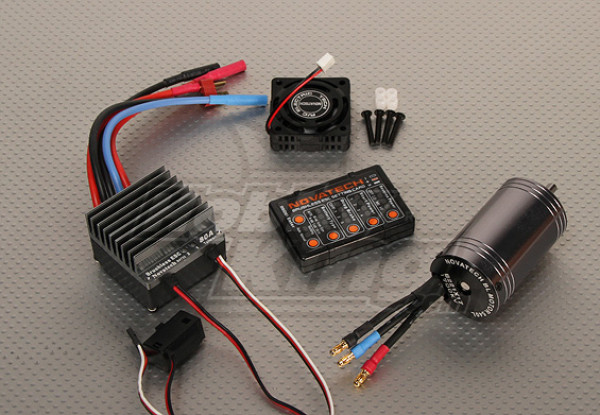 1700kv Brushless Power System Car / 80A