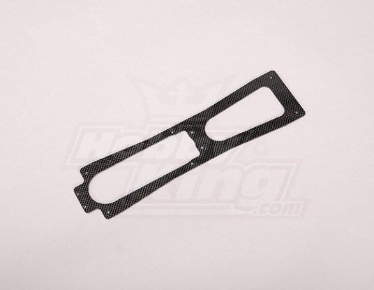 TZ-V2 .90 Taille en fibre de carbone Plaque de base