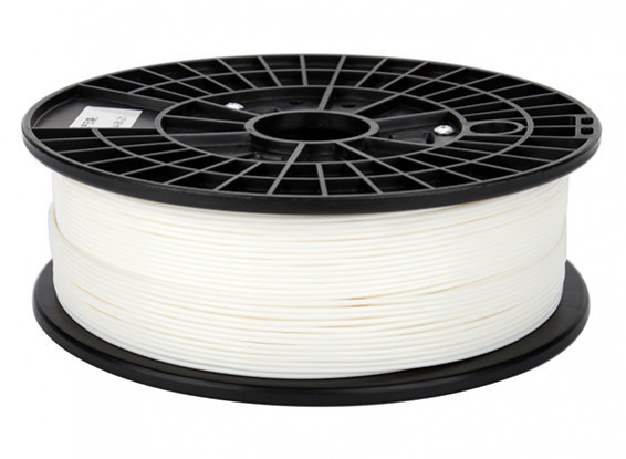CoLiDo 3D Filament imprimante 1.75mm ABS 500G Spool (Blanc)