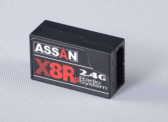 X8Rp 2.4ghz 8ch Parkflyer Receiver