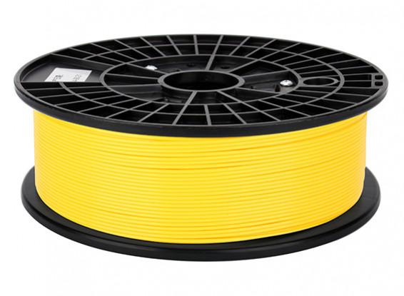 CoLiDo 3D Filament imprimante 1.75mm ABS 500G Spool (Jaune)