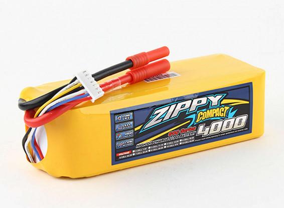 ZIPPY-Compact-4000mAh-6S-60c-Lipo-Pack-Battery-9067000052