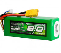 Multistar High Capacity 8000mAh 4S 12C Multi-Rotor Lipo Pack wXT90