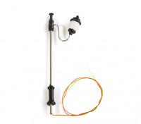 1/100 Scale Working Classic Ornate Single Street Lantern  1pc
