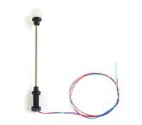 1/100 Scale Working Classic Round Single Street Lantern 1pc