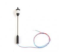 1/100 Scale Working Classic Ornate Straight Single Street Lantern 1pc