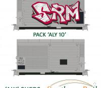 Southern Rail HO Scale Railway Aluminum Sheds 2pcs