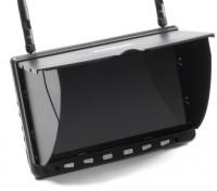 7 pouces HD 5.8GHz 40CH diversité Moniteur LCD w / DVR, HDMI SkyZone HD02
