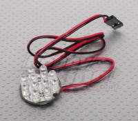 12 LED Cluster - BLANC