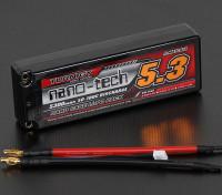 Turnigy nano-tech 5300mah 2S2P 50 ~ 100C Hardcase Lipo Paquet