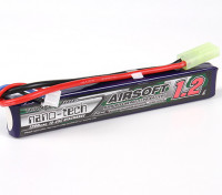 Turnigy nano-tech 1200mah 2S 15 ~ 25C Lipo AIRSOFT Paquet