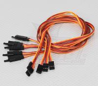 60CM Servo Lead Extention (JR) avec crochet 26AWG (5pcs / bag)
