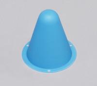 Cônes de course en plastique pour R / C voiture piste ou Drift Course - Bleu (10pcs / bag)
