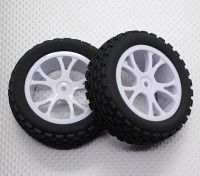 Avant Buggy Tyre Set 2sets (Split 5 Spoke) - 1/10 Quanum Vandal 4WD Racing Buggy (2pc)