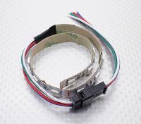 LED rouge, vert, bleu (RVB) 25cm Strip w / Flying Lead