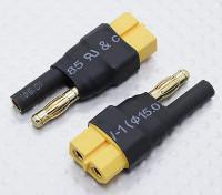 HXT 4mm Adaptateur Batterie XT60 Lead (2pc)