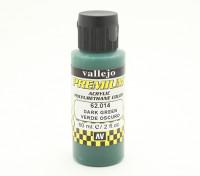 Peinture acrylique de couleur Vallejo Premium - Vert foncé (60ml)