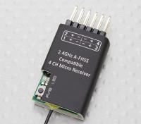 2.4Ghz A-FHSS Compatible 4CH Micro récepteur (Hitec Minima compatible)