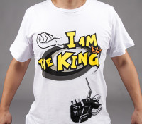 """I am the King"" T-shirt HobbyKing (X-Large) - Offre Remboursement"