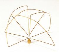900Mhz à polarisation circulaire antenne du récepteur (RP-SMA) (PCG) (Short)