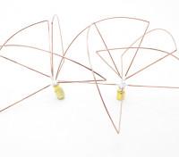 1,2 GHz à polarisation circulaire antenne SMA (Set) (court)