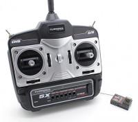 Mini émetteur Turnigy 5X 5Ch et le récepteur (Mode 1)