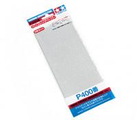 Tamiya Finition Wet / Dry Sandpaper P400 grade (3pc)