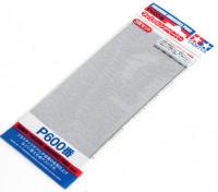 Tamiya Finition Wet / Dry Sandpaper P600 grade (3pc)