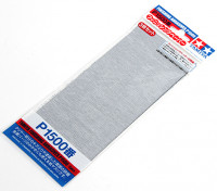 Tamiya Finition Wet / Dry Sandpaper P1500 année (3pc)