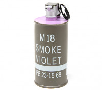 Dytac Dummy M18 Décoration Smoke Grenade (Violet)