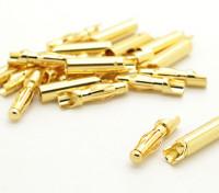 4mm facile à souder Connecteurs d'or (10 paires)