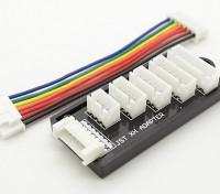 JST-XH Balance Board pour 2S à 6S Packs Batterie