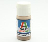 Italeri Peinture acrylique - Flat Nocciola Chiaro