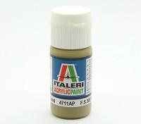 Italeri Peinture acrylique - Armure Flat Sable