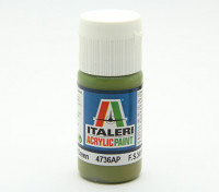 Italeri Peinture acrylique - Flat Vert Intérieur