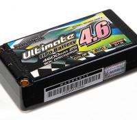Turnigy nano-tech ultime 4600mAh 2S2P 90C Hardcase Lipo Court Pack (ROAR et BRCA Approuvé)