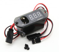 Turnigy 3 Fonction CDI Remote Master - Tension Affichage - Récepteur Switch (Non BEC)